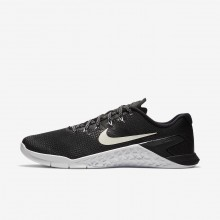 Nike Metcon 4 Training Shoes Mens Black/White (602FGSMJ)