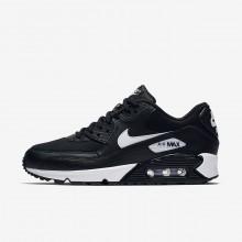 Chaussure Casual Nike Air Max 90 Femme Noir/Blanche (604LTXUR)