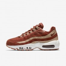 Nike Air Max 95 Lifestyle Shoes For Women Dusty Peach/Bio Beige/Summit White (607GIQKX)