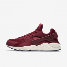 Nike Air Huarache Lifestyle Shoes For Men Team Red/Navy/Sail (613ONEMI)