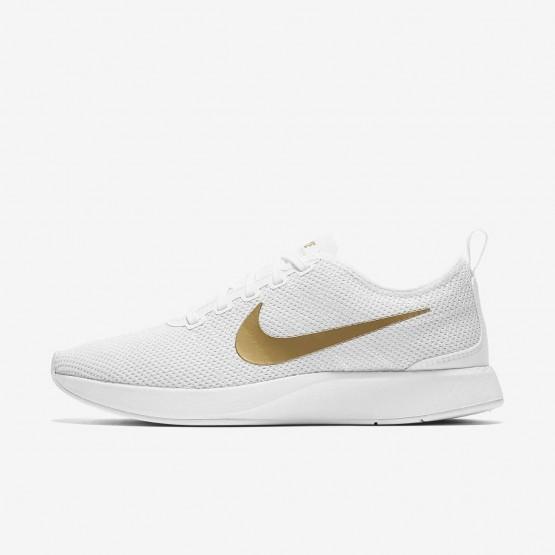 Nike Dualtone Racer Casual Sko Kvinder Hvide/Grå/Metal/Guld (624COYQN)