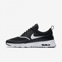 Nike Air Max Thea Lifestyle Shoes For Women Black/White (629VMWRY)