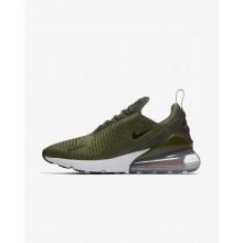 Nike Air Max 270 Lifestyle Shoes Mens Medium Olive/Total Orange/White/Black (635RVYCH)
