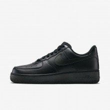 Nike Air Force 1 Lifestyle Shoes Womens Black (645IERYG)