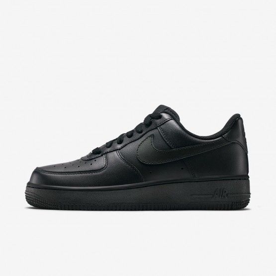 Chaussure Casual Nike Air Force 1 Femme Noir (645IERYG)