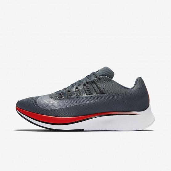Nike Zoom Fly Running Shoes Mens Blue Fox/Bright Crimson/University Red/Black (645VLBYT)