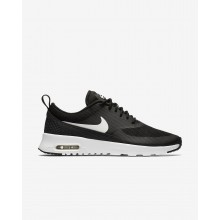 Nike Air Max Thea Lifestyle Shoes For Women Black/Summit White (659YPKWH)