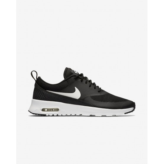 Nike Air Max Thea Lifestyle Shoes Womens Black/Summit White (659YPKWH)