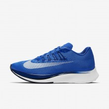 Nike Zoom Fly Running Shoes Womens Hyper Royal/Deep Royal Blue/Black/White (667HOSUD)