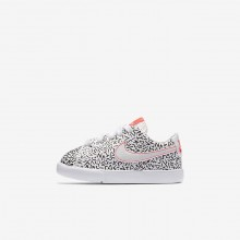Nike Blazer Lifestyle Shoes For Girls White/Black/Bright Crimson (682EROST)