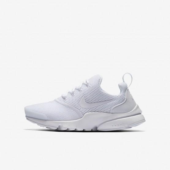 Nike Presto Fly Lifestyle Shoes Boys White (685DAVWF)