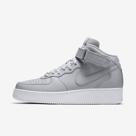 Nike Air Force 1 Lifestyle Shoes Mens Wolf Grey/White (685SBKCX)