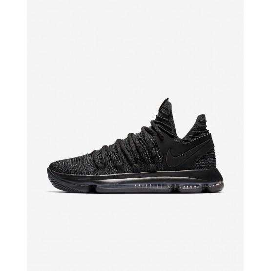 Nike Zoom KDX Basketball Shoes Womens Black/Dark Grey (687BRDOT)