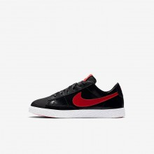 Nike Blazer Lifestyle Shoes For Girls Black/Bleached Coral/Speed Red (703WUJIX)