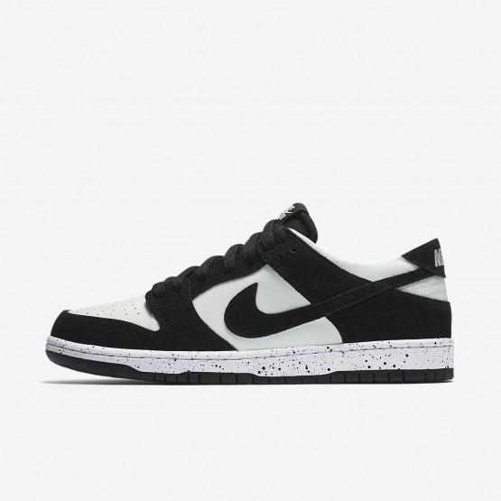 Nike SB Dunk Skateboarding Shoes Mens Black/Barely Green/White (707IGBEA)