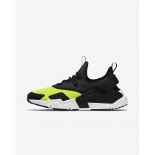 Chaussure Casual Nike Air Huarache Homme Blanche/Noir (709MGTWA)