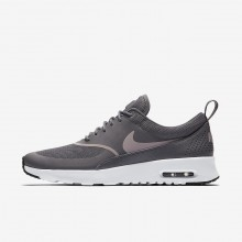 Nike Air Max Thea Lifestyle Shoes Womens Gunsmoke/Black/Particle Rose (726ISCYA)