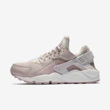 Nike Air Huarache Lifestyle Shoes Womens Vast Grey/Summit White/Particle Rose (730USVNO)