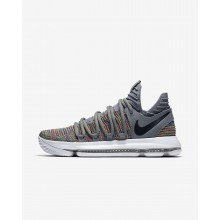 Nike Zoom KDX Basketball Shoes Womens Multi-Color/Cool Grey/White/Black (734SONYR)