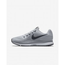 Nike Air Zoom Running Shoes For Women Pure Platinum/Cool Grey/Black/Anthracite (736AMLDC)