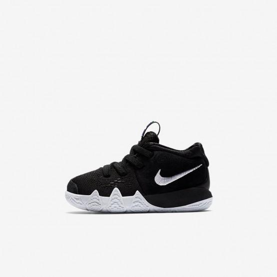 Nike Kyrie 4 Basketball Shoes For Girls Black/Anthracite/Light Racer Blue/White (742EQKNV)