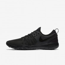 Nike Free TR Training Shoes For Women Black/Dark Grey (744SHFOU)