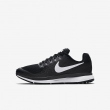 Nike Zoom Pegasus Running Shoes For Boys Black/Dark Grey/Anthracite/White (762JZCNW)