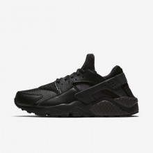 Nike Air Huarache Lifestyle Shoes Womens Black (763VNEIZ)