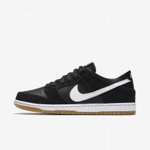 Nike SB Dunk Skate Schoenen Heren Zwart/LichtBruine/Wit (766XZGOL)