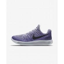 Nike LunarEpic Low Running Shoes For Women Wolf Grey/Purple Earth/Dark Raisin/Black (771EKZLW)