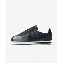 Nike Cortez Lifestyle Shoes Womens Anthracite/Metallic Gold/Black (773ALGNM)