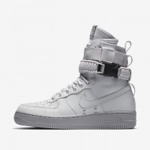 Chaussure Casual Nike SF Air Force 1 Femme Grise/Grise (774PGDQS)