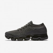 Nike Air VaporMax Running Shoes Womens Midnight Fog/Black/College Navy/Multi-Color (777YBHFE)