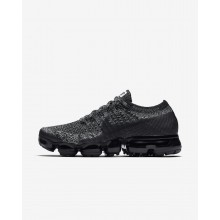 Nike Air VaporMax Running Shoes Womens Black/White/Racer Blue (783AGXYN)