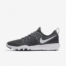 Nike Free TR Training Shoes For Women Dark Grey/White (788KELXU)