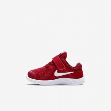 Nike Revolution 4 Running Shoes Girls Gym Red/Team Red/Black/White (796DPZEV)