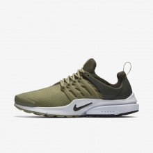 Nike Air Presto Lifestyle Shoes Mens Neutral Olive/Cargo Khaki/Black (799NYOEU)