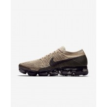 Nike Air VaporMax Running Shoes For Men Khaki/Anthracite/Pale Grey/Black (800ZEWUK)