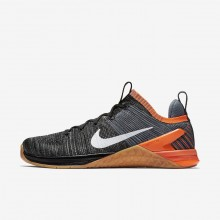 Nike Metcon DSX Training Shoes For Men Black/Hyper Crimson/Light Carbon/White (807UAGWK)