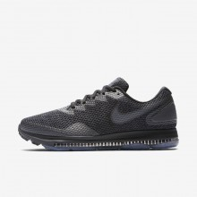 Nike Zoom All Out Running Shoes For Men Black/Anthracite/Dark Grey (809QTGFS)