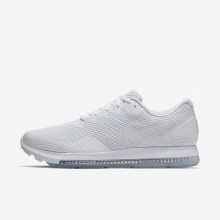 Nike Zoom All Out Running Shoes For Men White/Off White (811OBPXF)