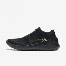 Nike Free RN Running Shoes Womens Black/Anthracite (811OYUBP)