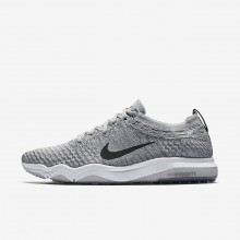 Nike Air Zoom Training Shoes For Women Wolf Grey/White/Anthracite (817JQZNA)