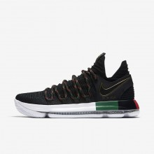Nike Zoom KDX Basketball Shoes For Women Black/Multi-Color (840UTBRN)
