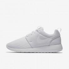 Nike Roshe One Casual Sko Kvinder Hvide/Platin (845KRIGY)