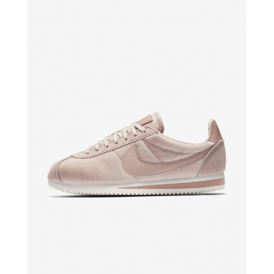 Chaussure Casual Nike Cortez Femme Beige/Metal Doré/Rose (846CWDSM)