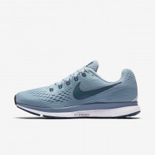 Nike Air Zoom Running Shoes For Women Ocean Bliss/Noise Aqua/Black/Blue Force (853UGTRM)