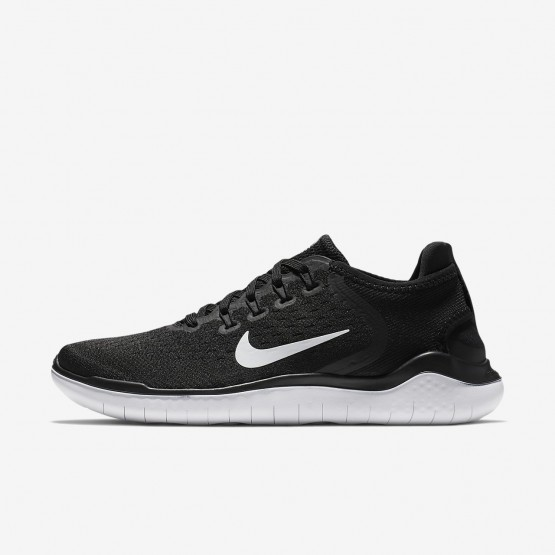 Nike Free RN Hardloopschoenen Dames Zwart/Wit (861XLGAK)