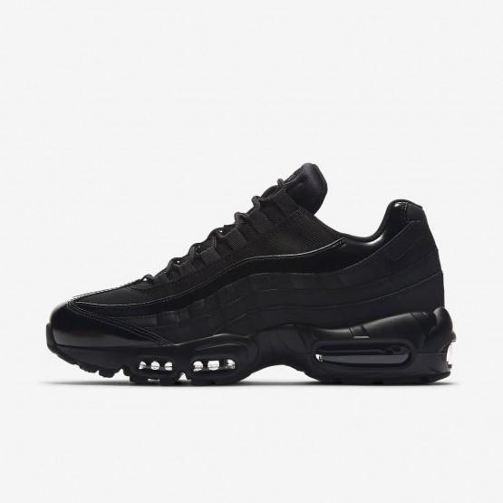 Chaussure Casual Nike Air Max 95 Femme Noir (862KEZDQ)