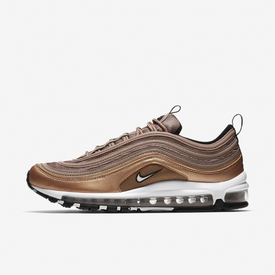 Chaussure Casual Nike Air Max 97 Homme Metal Rouge/Noir/Blanche (866SULYD)